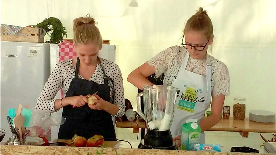 Follow the foodie: Pop-up resto food challenge