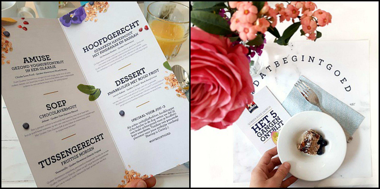 Follow the foodie: Quaker boek launch