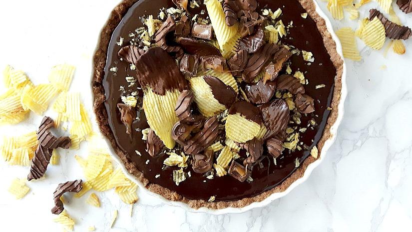 Koken met Nestlé: Chocolate chips taart