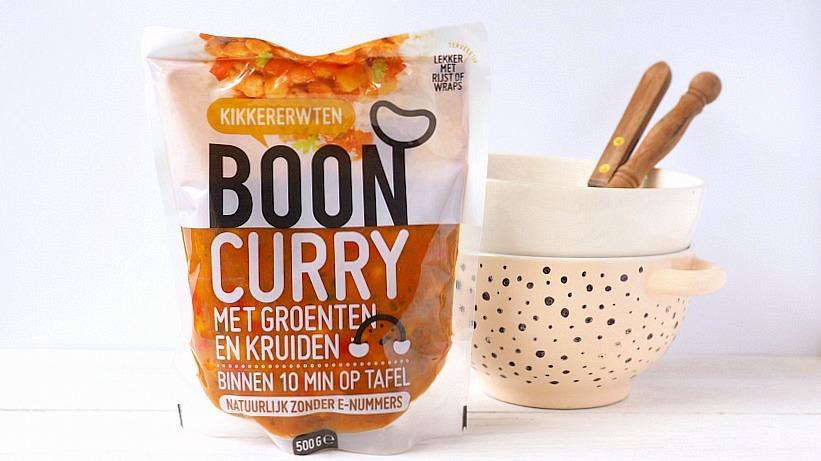 Review: BOON curry met kikkererwten