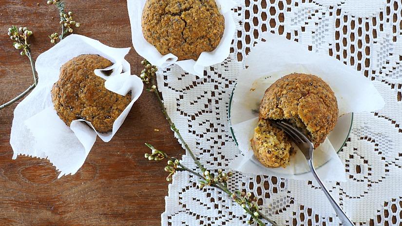 Project Paasbrunch #2: Citroen maanzaad muffins