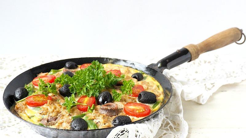 Koken met Princes: Fritatta Nicoise met tonijn