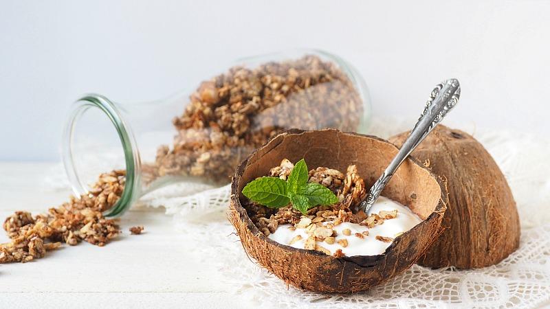Koken met Hihahavermout: Kokos granola