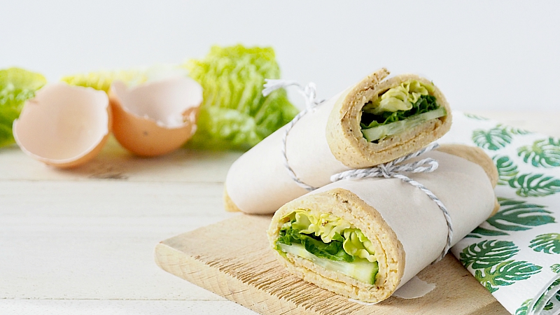 Recept: Havermout eggwrap