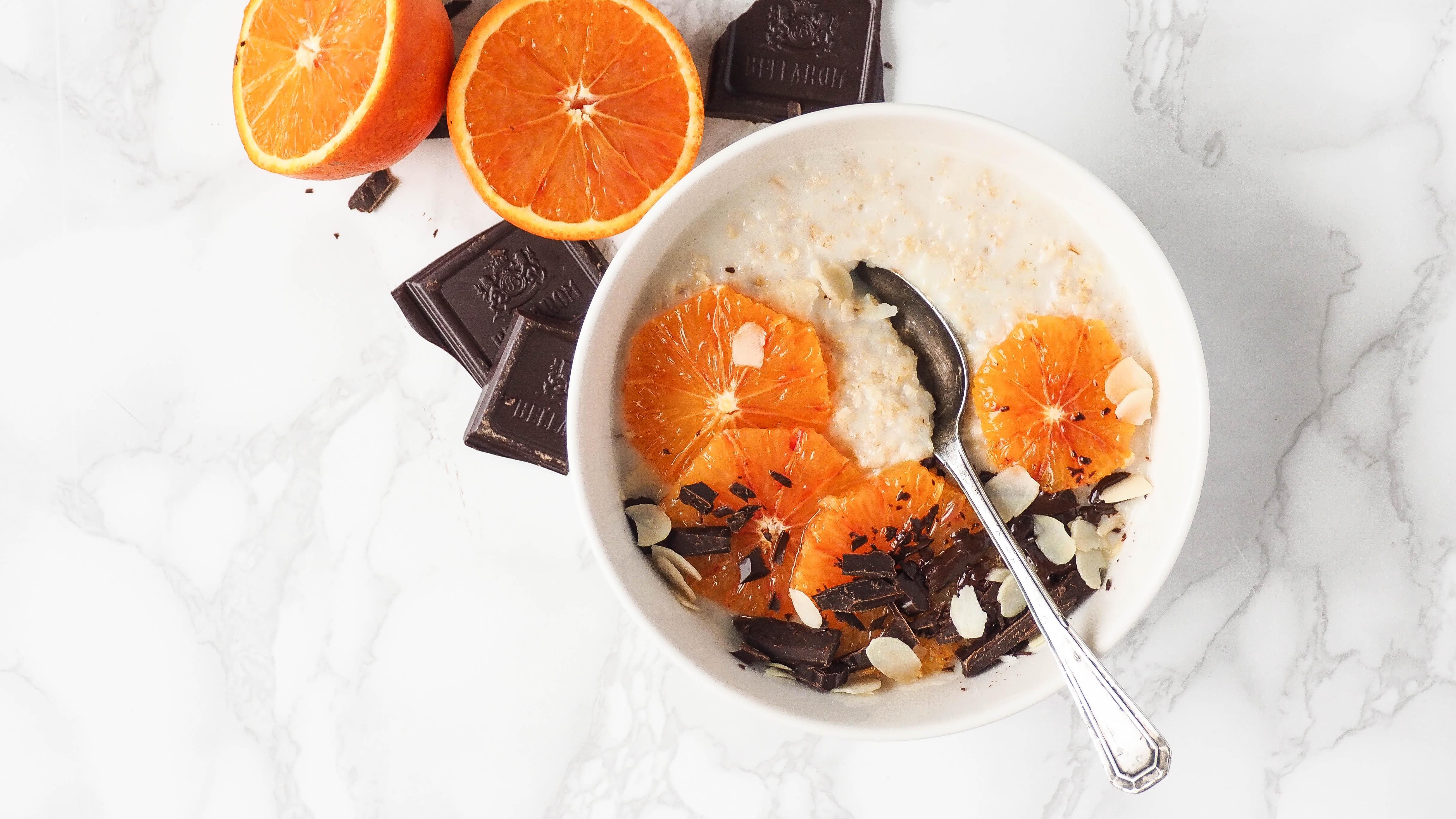 Recept: Choco sinaasappel oats