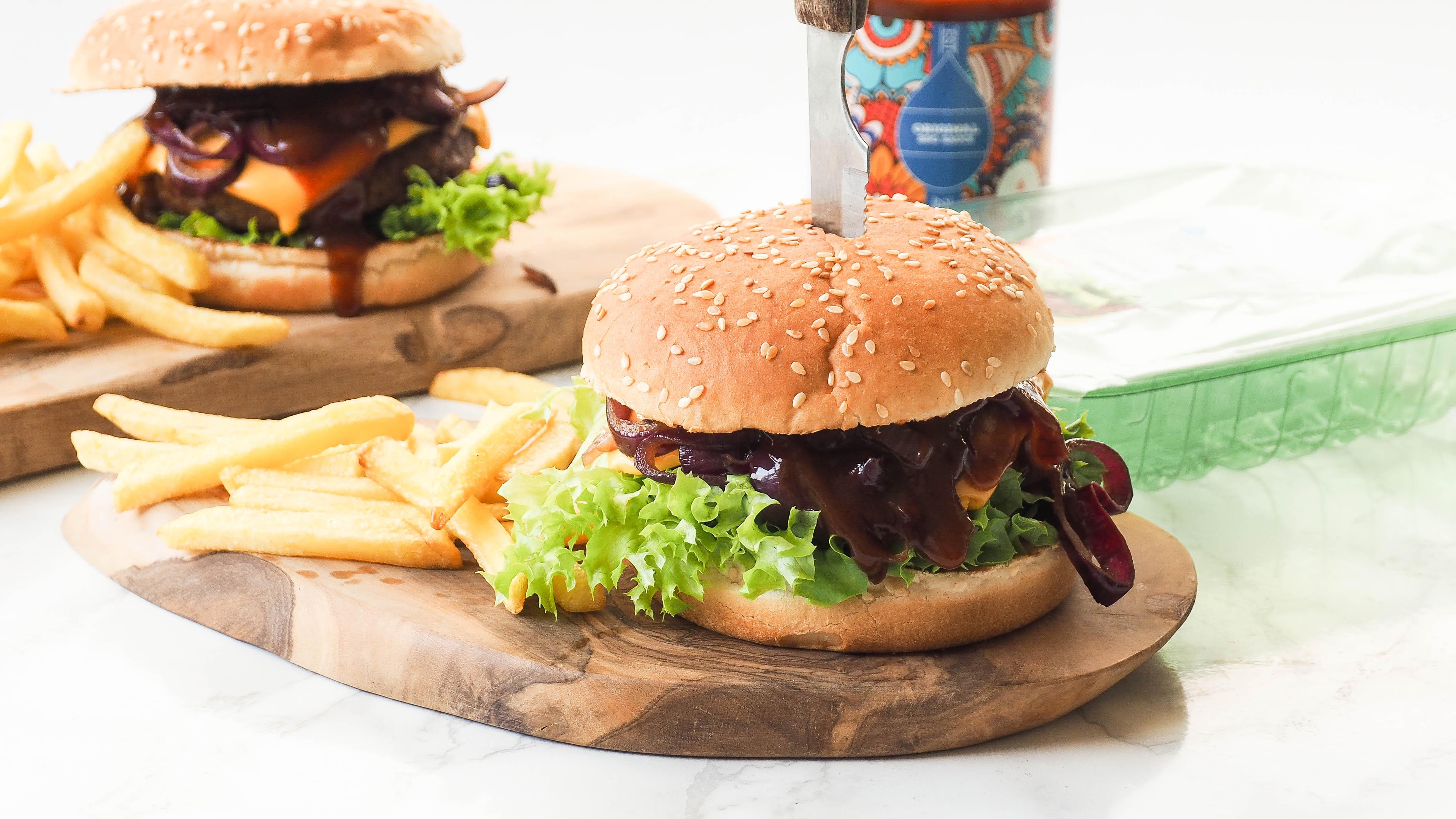 Guilty pleasure: Epic vega burgers