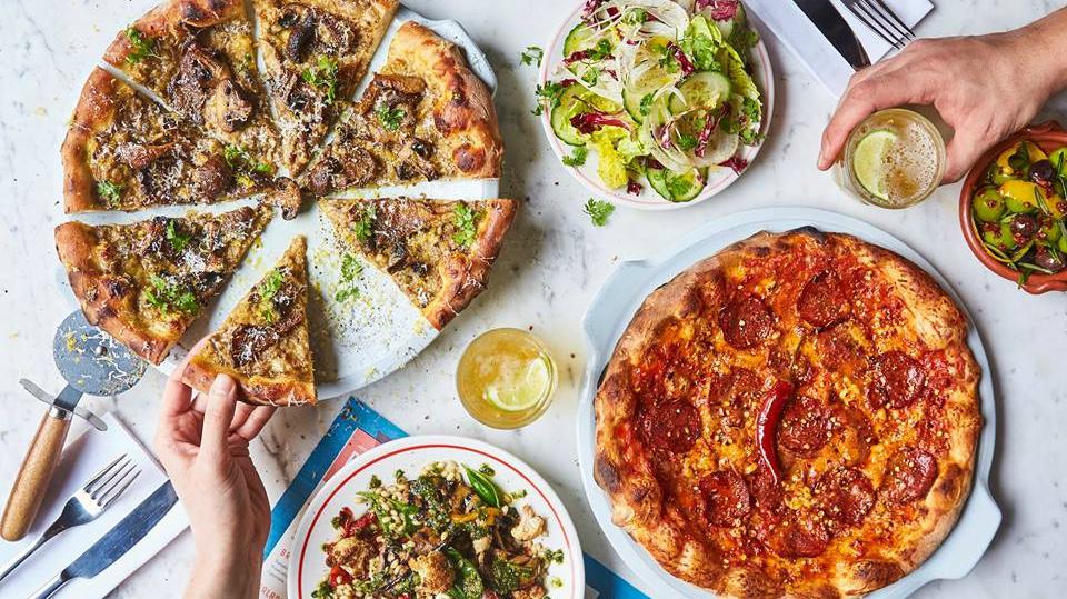 Aanschuiven bij: Jamie's Pizzaria