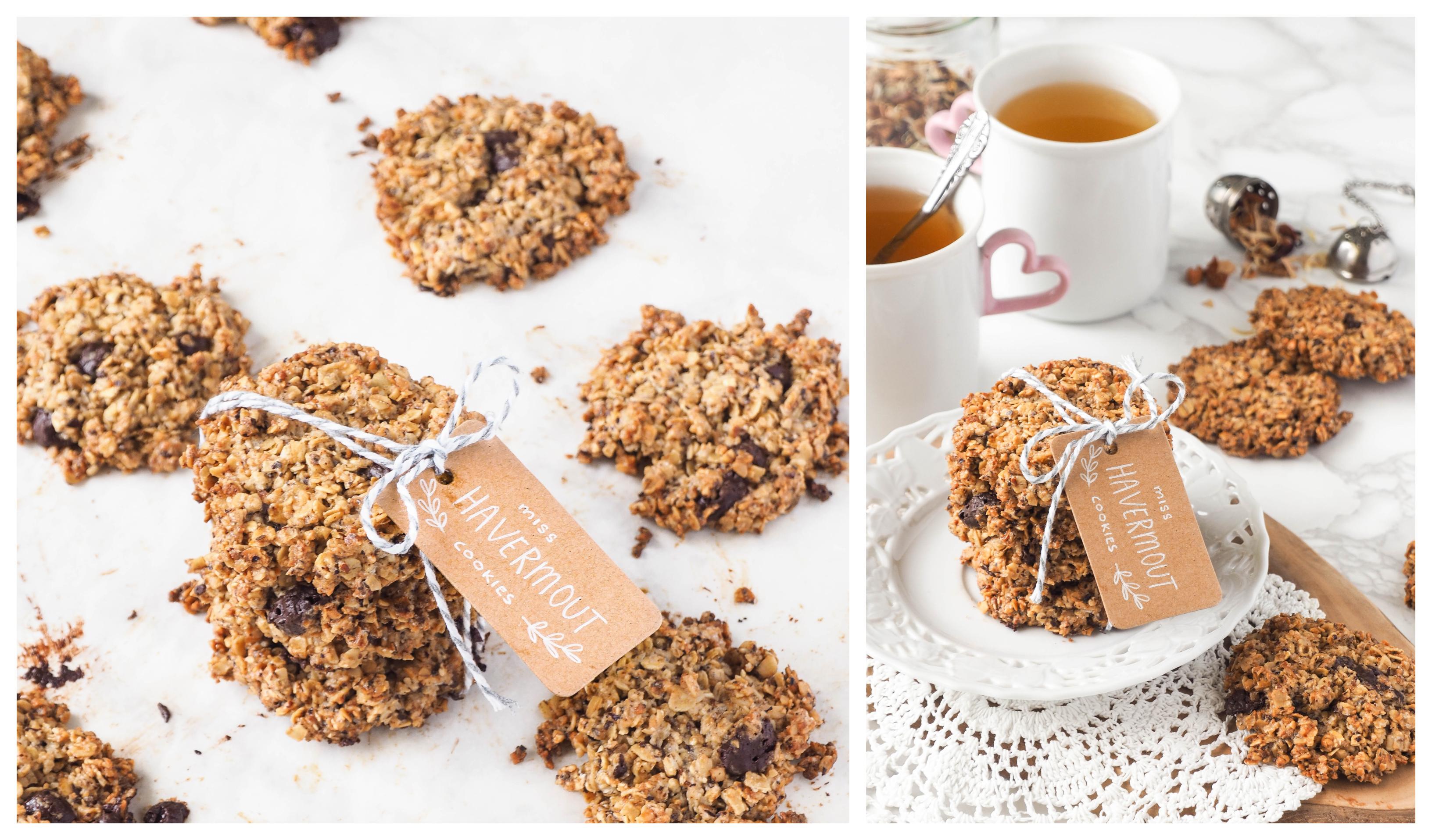 Recept: De enige echte Miss Havermout Cookies