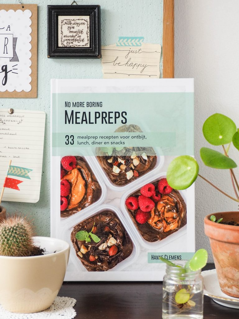 Mealprep ebook: No more boring mealpreps