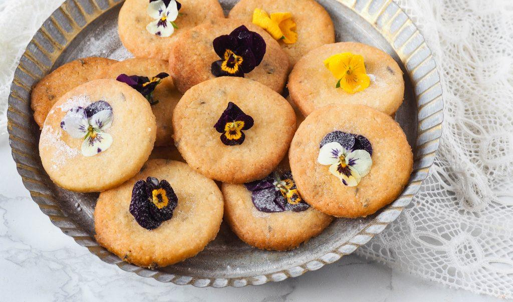 Recept: Lavendel honing koekjes