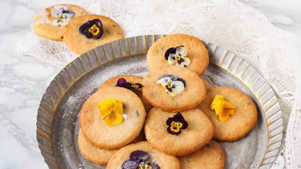 Lavendel honing koekjes