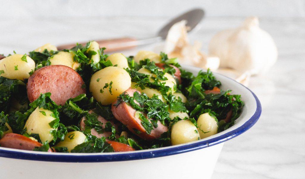 Recept: Gnocchi met boerenkool en rookworst
