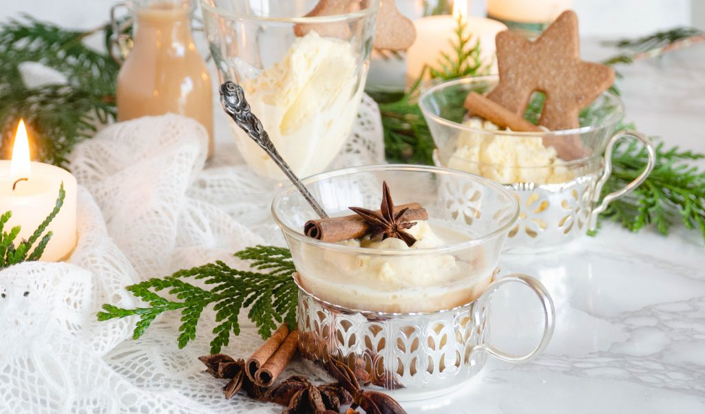 Recept: Chai latte affogato
