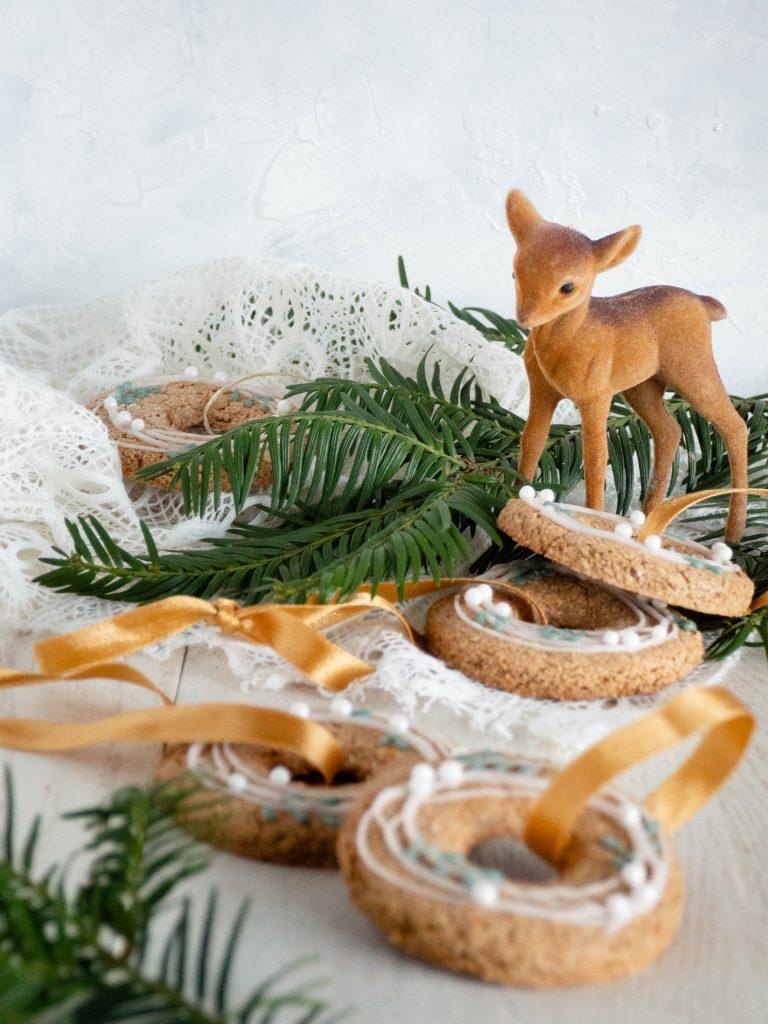 Kerstkransjes koekjes