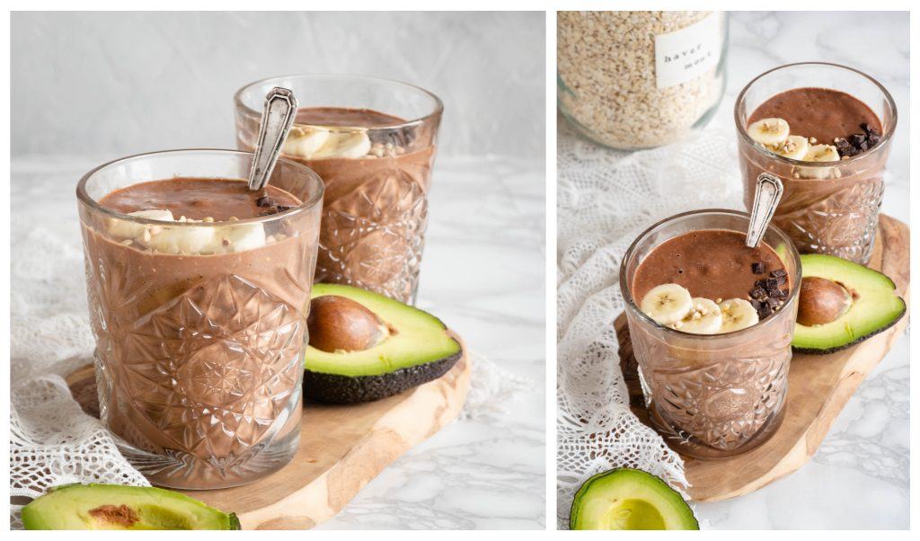 Recept: Avocado chocolade smoothie