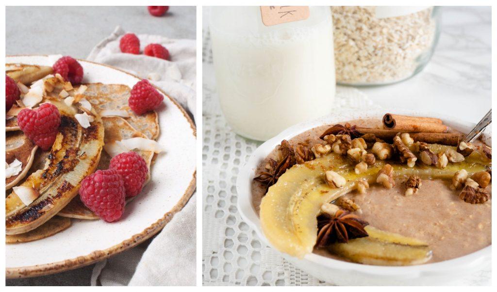 Recept: Havermout met gebakken banaan uit Eat Good Feel Good