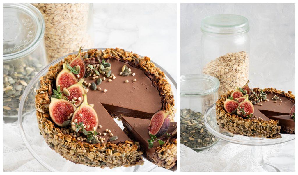Mijn vegan maand & vegan chocolade fudge taart