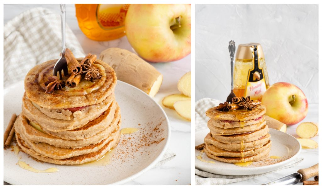 Recept: Appel gember pancakes