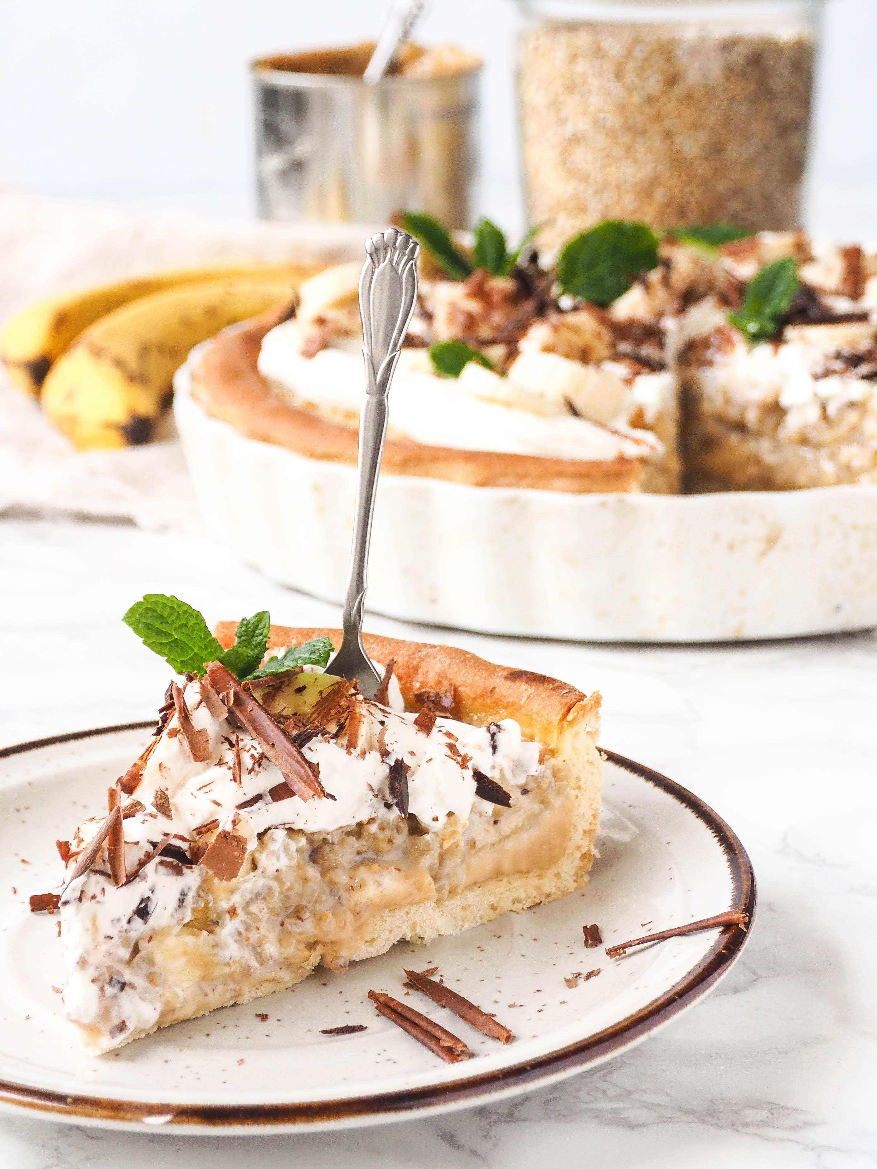 Havergrutten banoffee taart