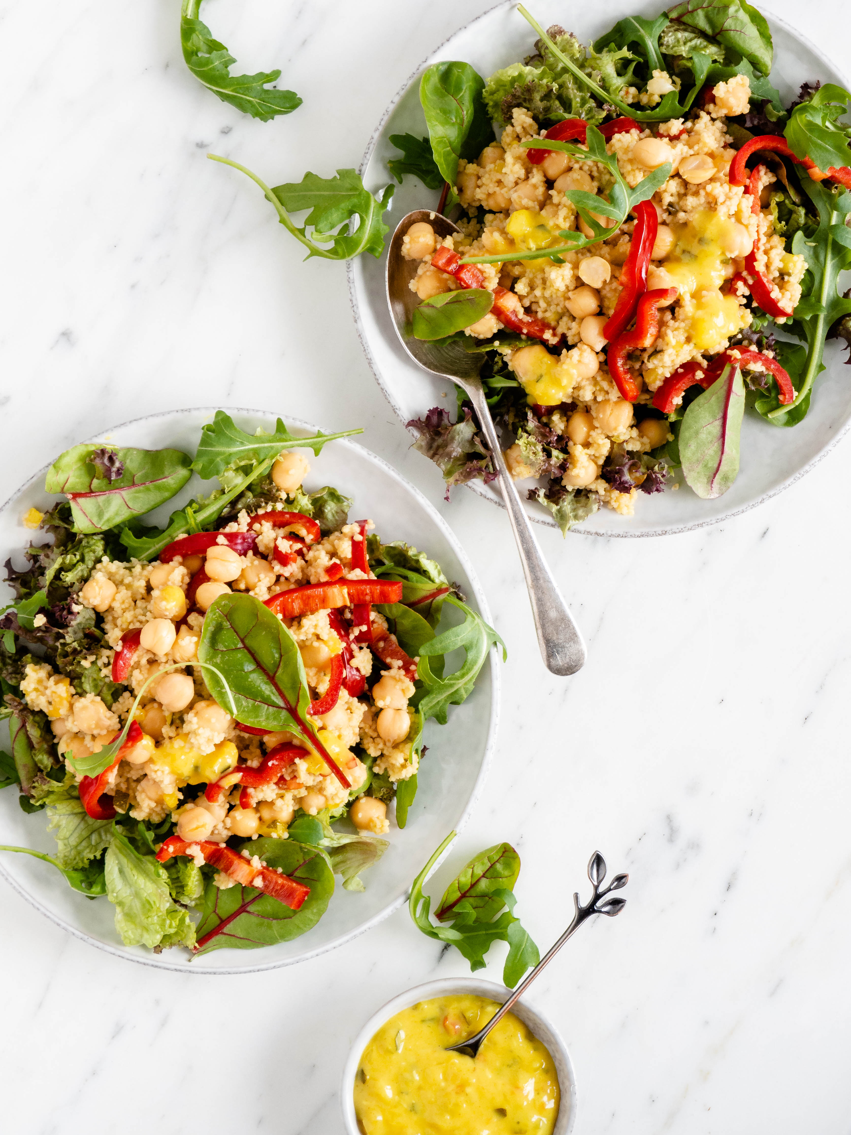 Curry couscous salade