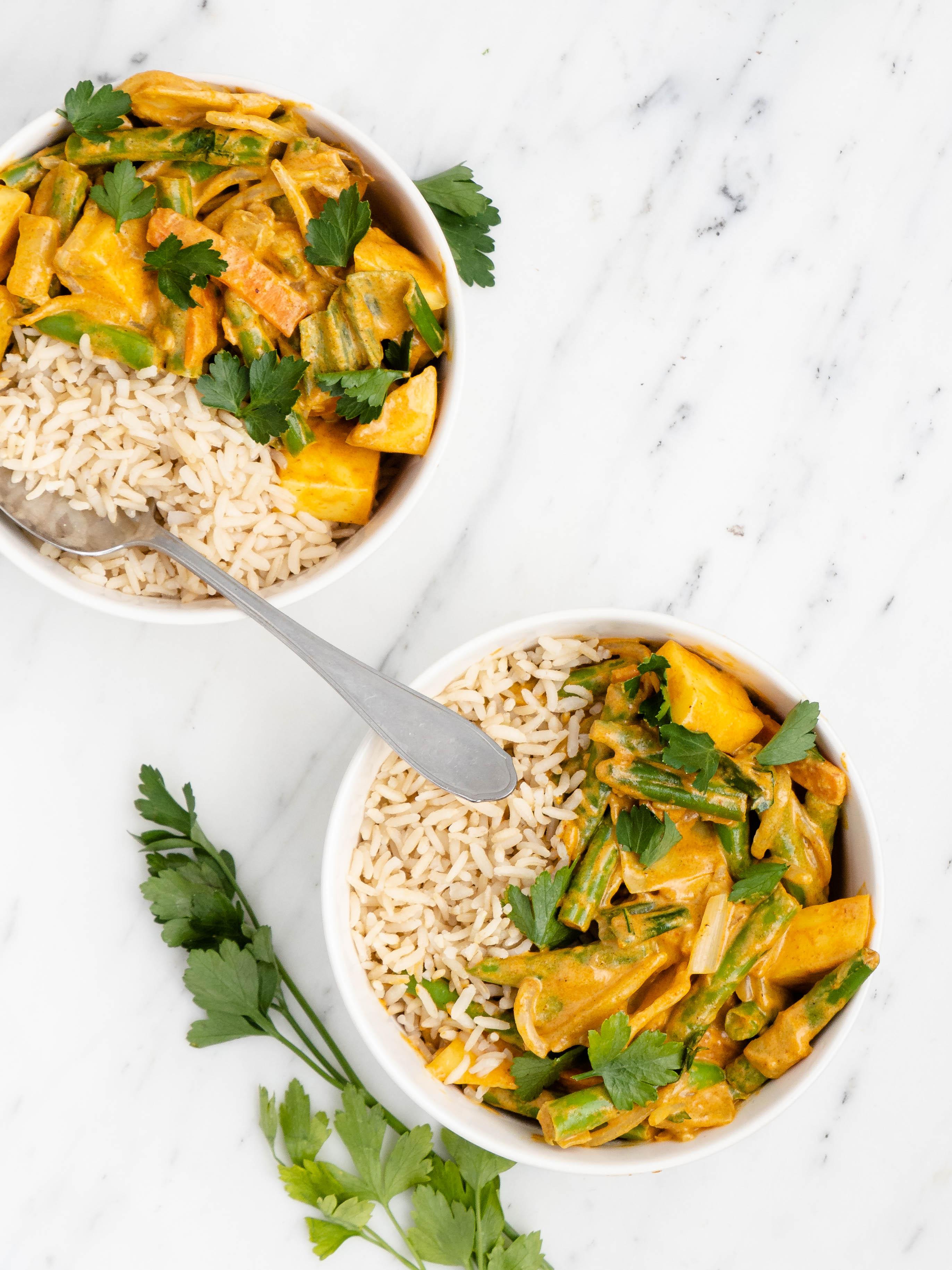 curry met mango