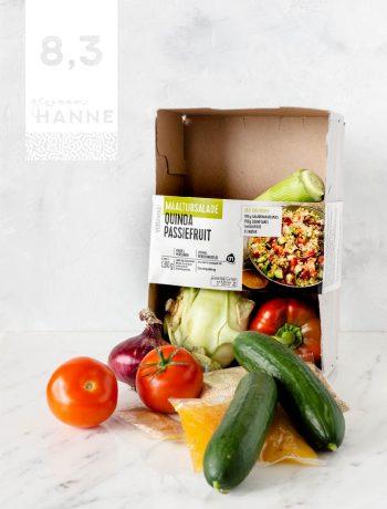 verspakket maaltijdsalade quinoa passievrucht