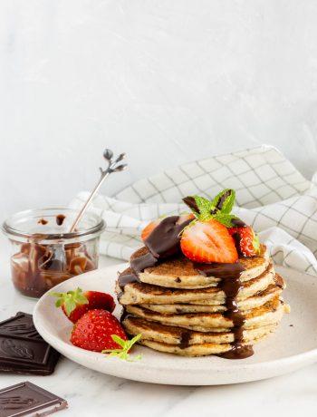 stratiatella pancakes