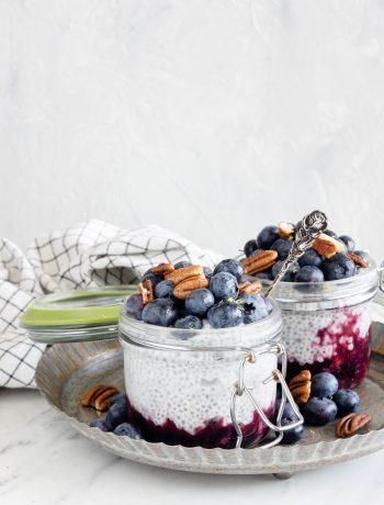karnemelk chia pudding