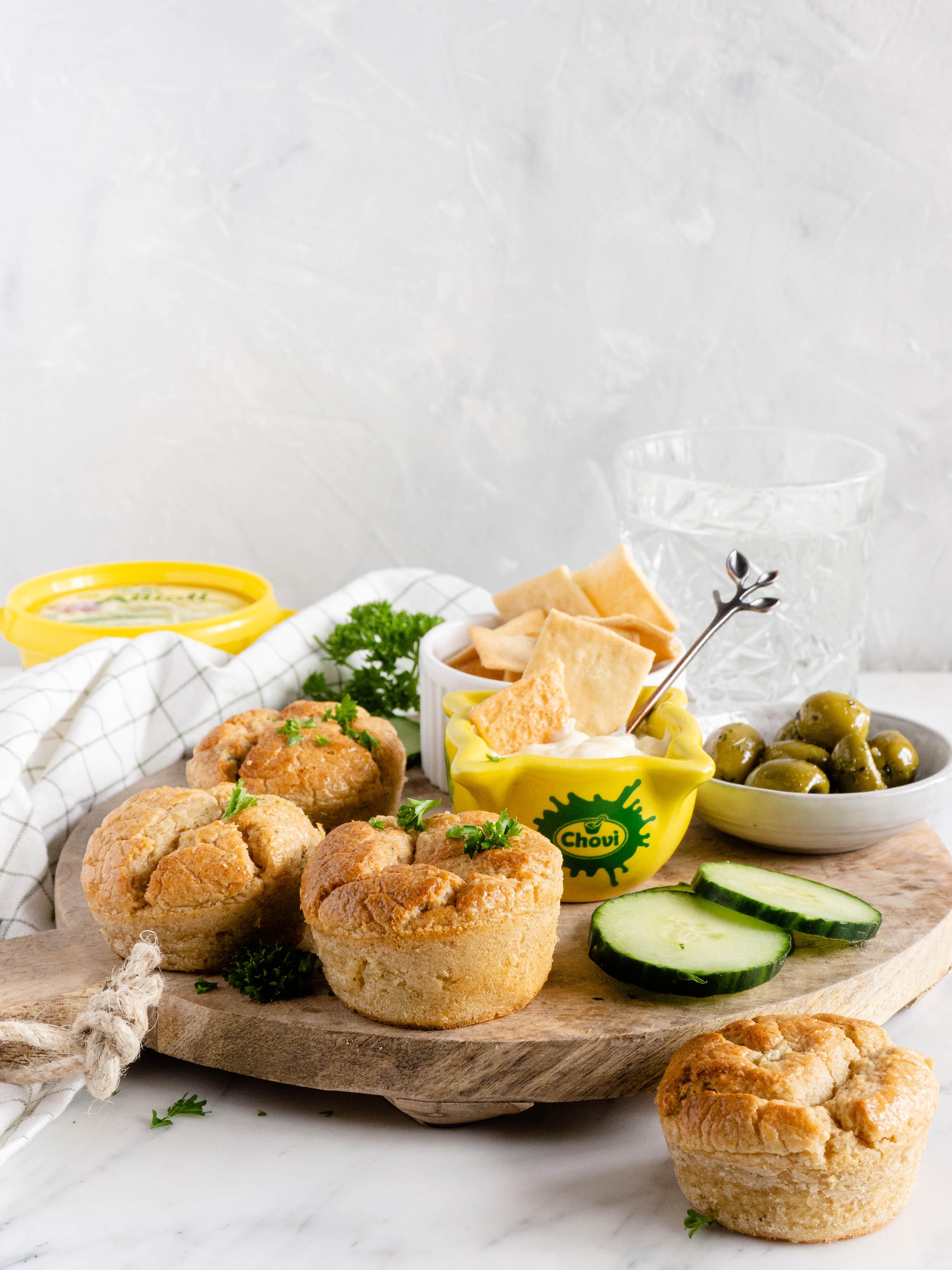 Allioli muffins