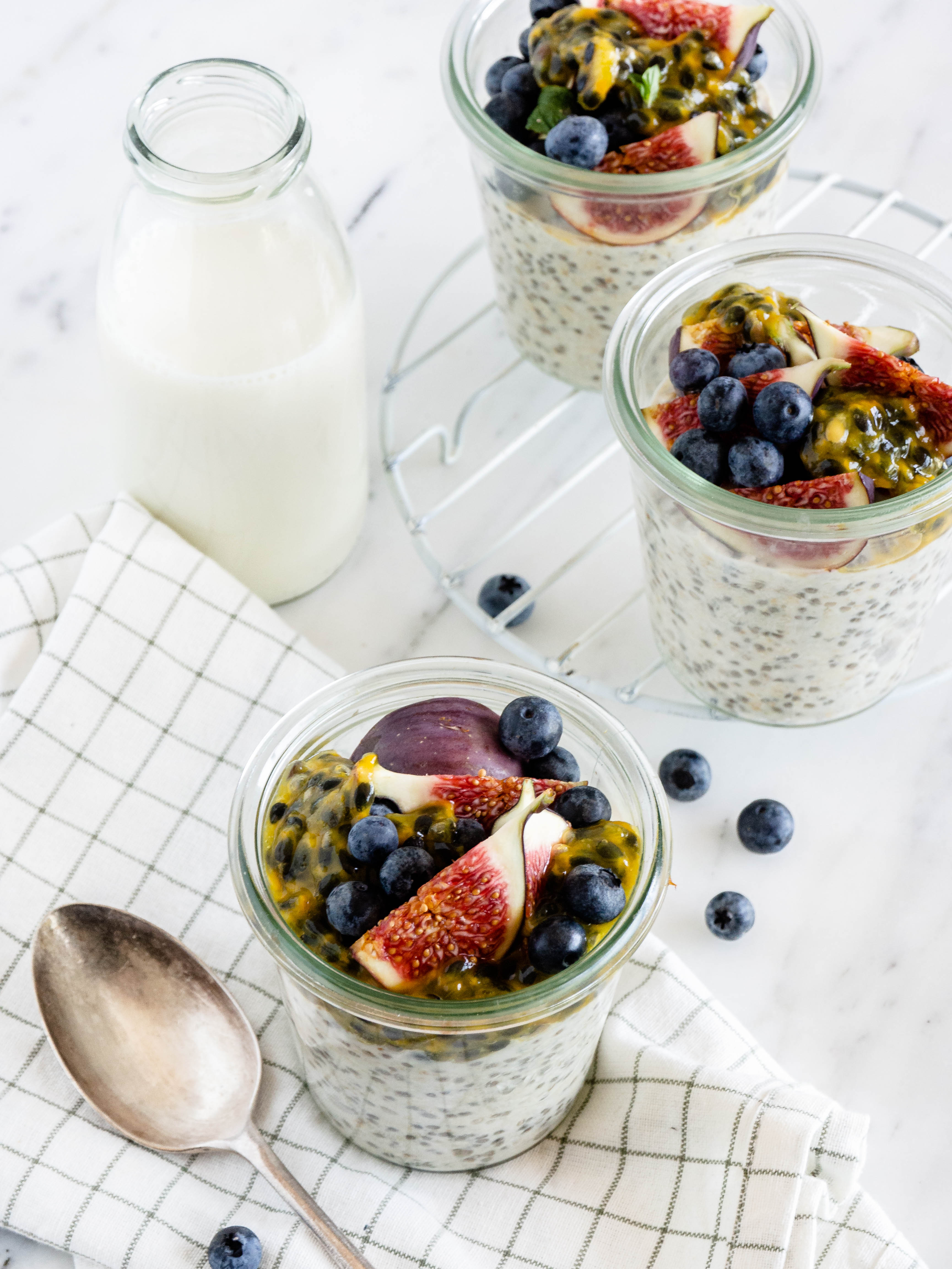 basisrecept overnight oats