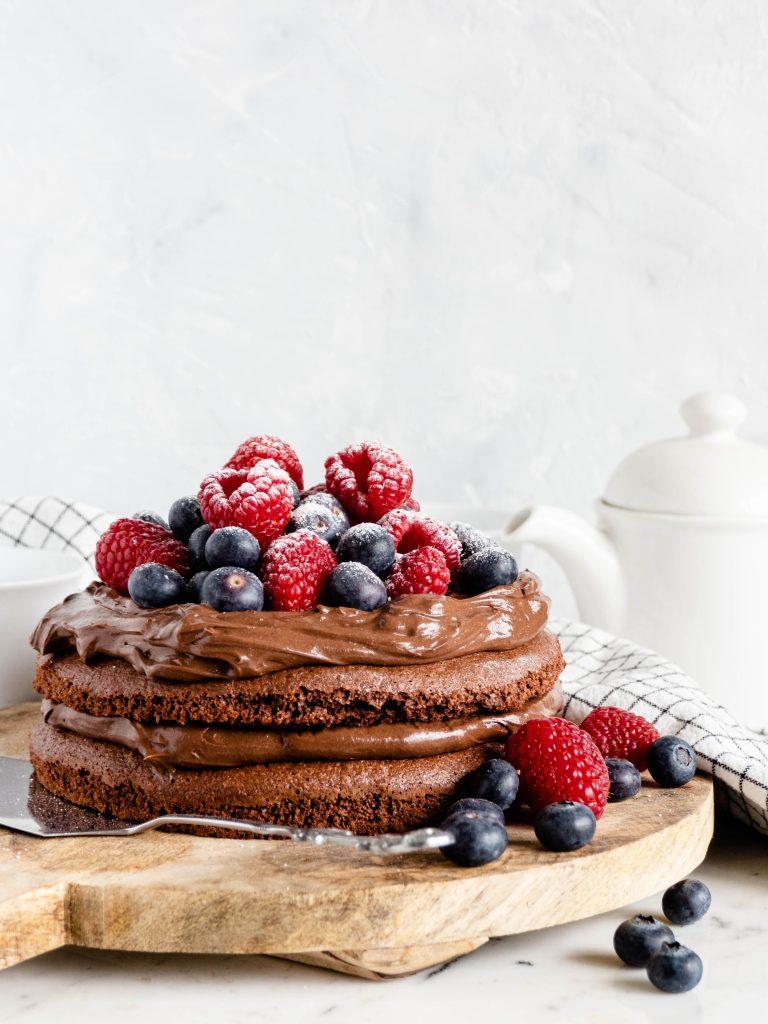 gemakkelijke chocolade taart