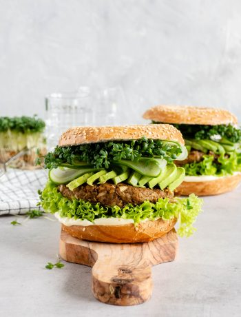 vegetarische noten burger