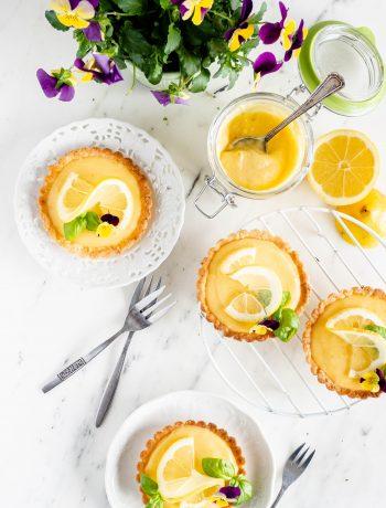 citroen tartelettes
