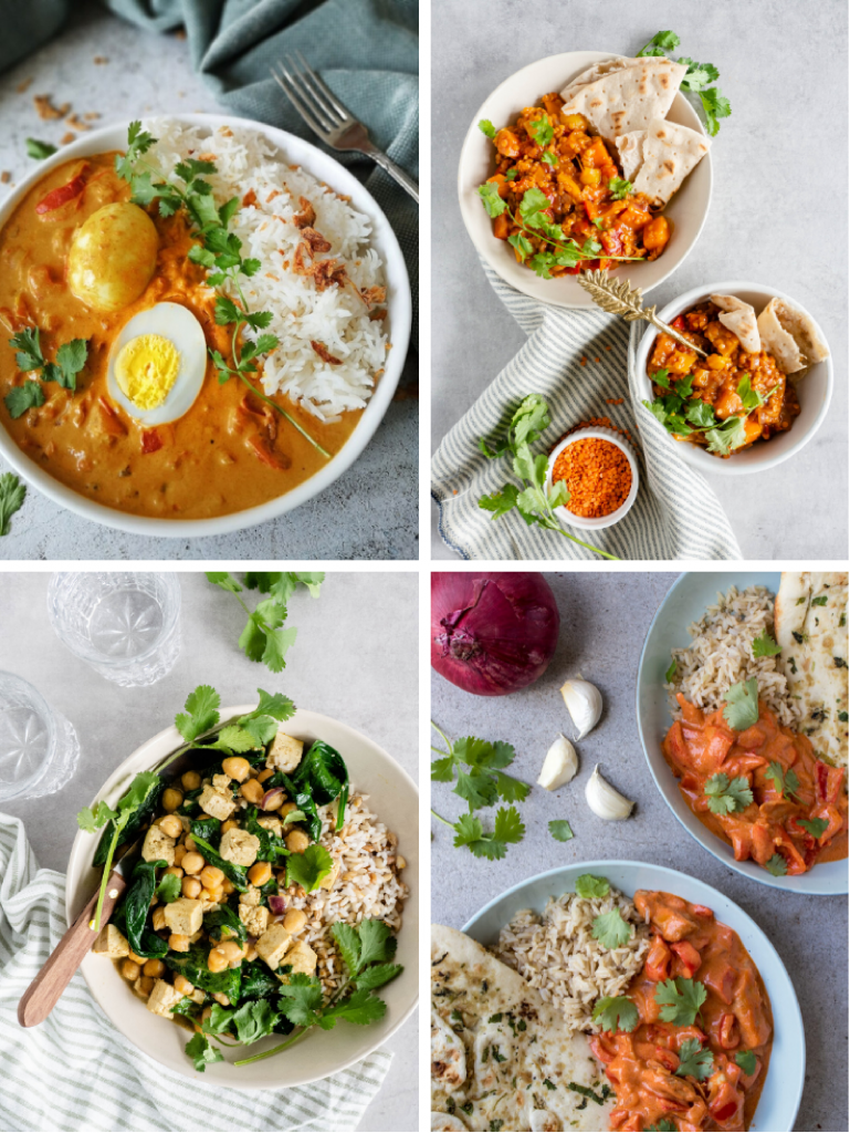 5x vegetarische curry