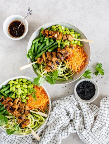 vegan salade bowl