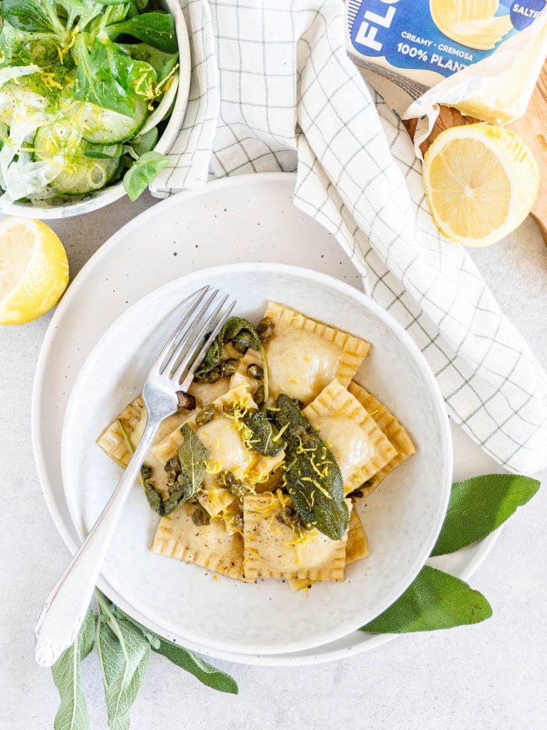 zelfgemaakte ravioli