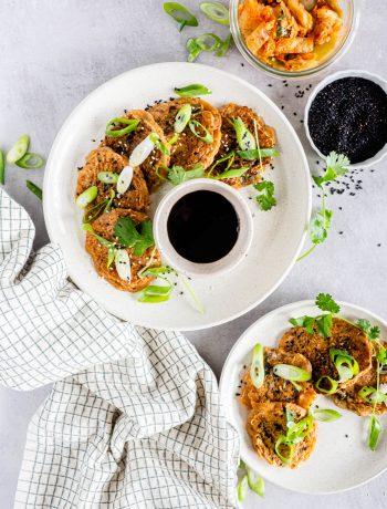 Kimchi pannenkoeken