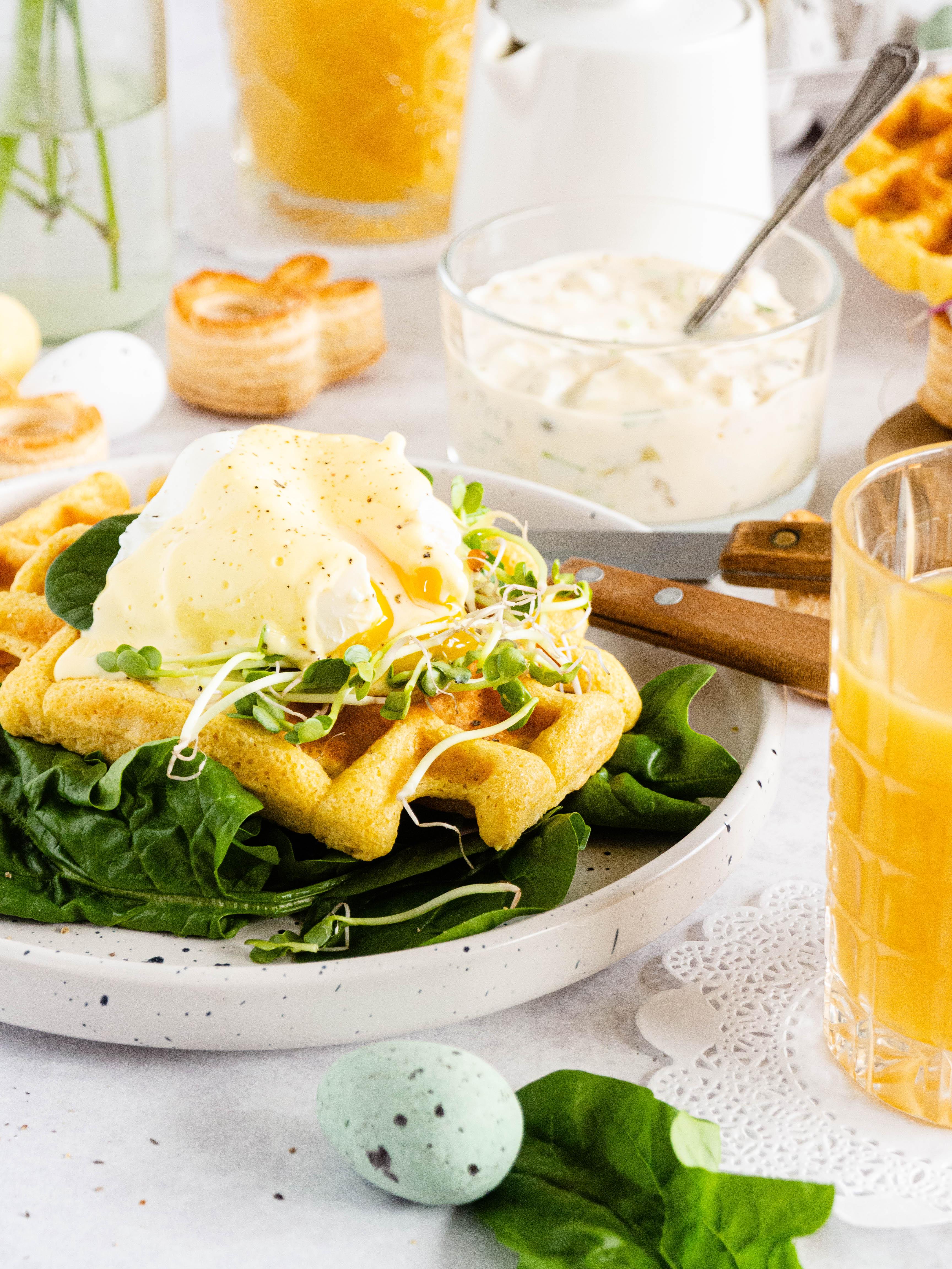 Hartige glutenvrije wafels